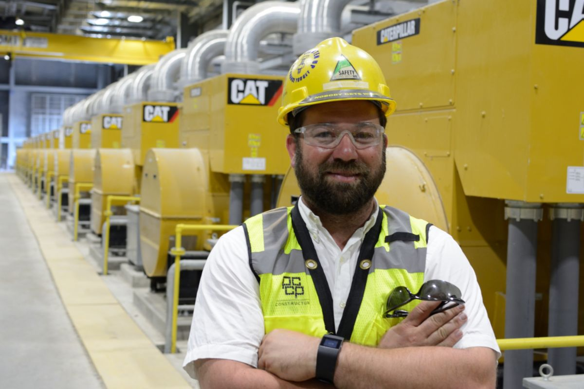 """Caterpillar and Louisiana Cat were able to provide the best solution for the PCCP pump stations."" Anthony Bertucci, Commissioning Manager, M.R. Pittman Group"