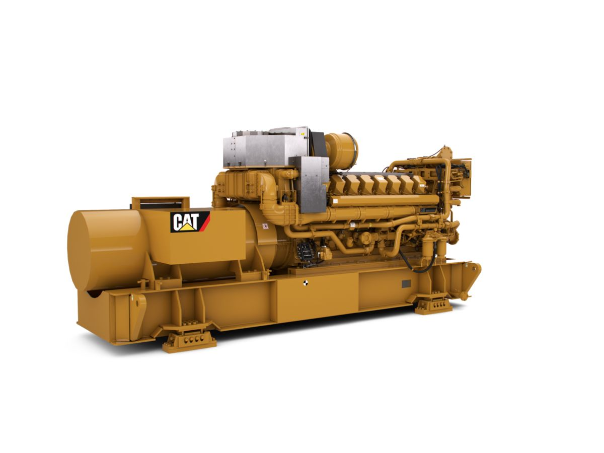 Cat® C175-16 diesel generator sets are made to meet mission critical, continuous, standby and prime applications, and match your power standards.