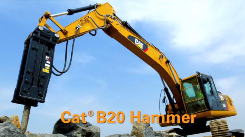 Cat B20 Breakers