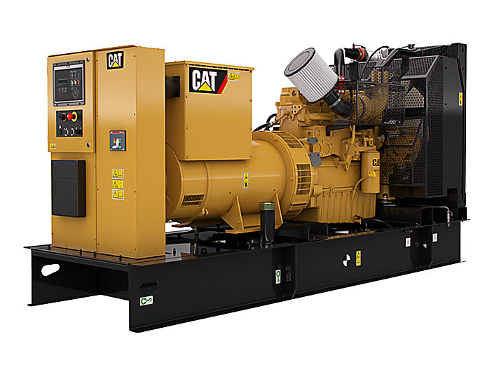 cat c9 generator set 180kw 300kw diesel generators caterpillar. Black Bedroom Furniture Sets. Home Design Ideas