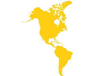 Americas - United States of America, Brazil, Mexico, Canada