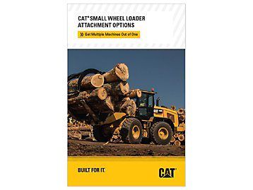 Cat Small Wheel Loader Attachment Options Brochure