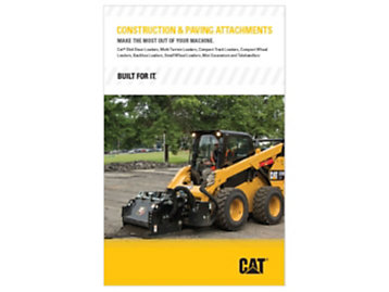 Construction and paving attachments
