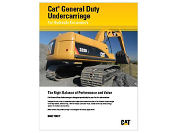Cat General Duty Undercarriage - Hydraulic Excavators