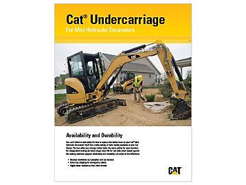 Cat Undercarriage For Mini Hydraulic Excavators