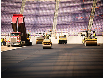 Paving Company Wins Big at Super Bowl LII Stadium