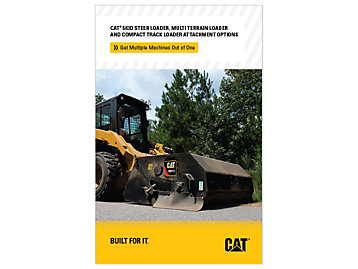 Cat Skid Steer Loader And Compact Track Loader Attachment Options