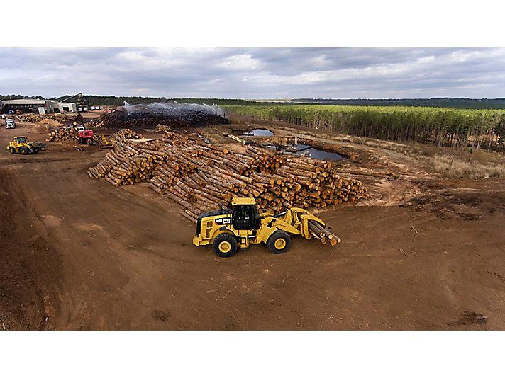 Погрузчик бревен для складов лесоматериалов 950M
