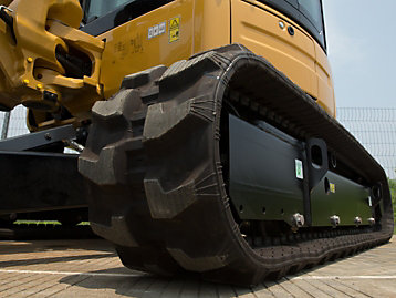 Rubber Tracks for Mini Excavators