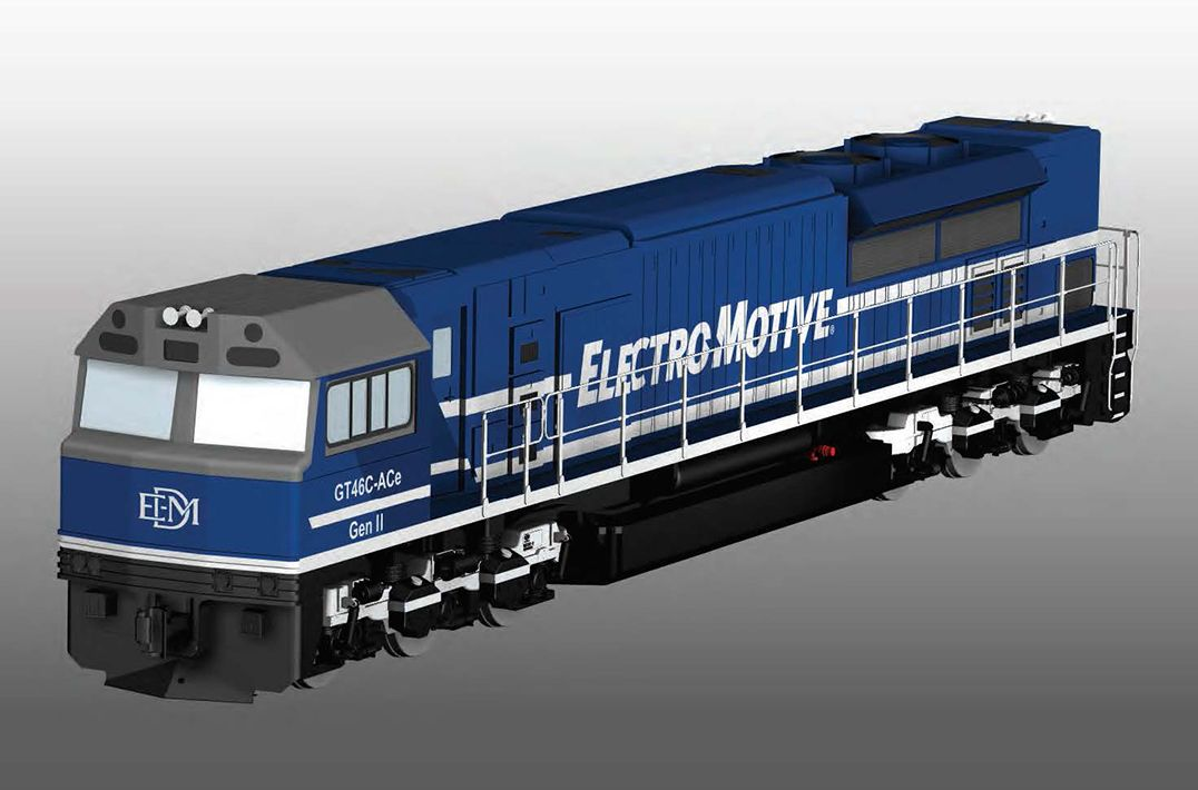 EMD GT46ACe