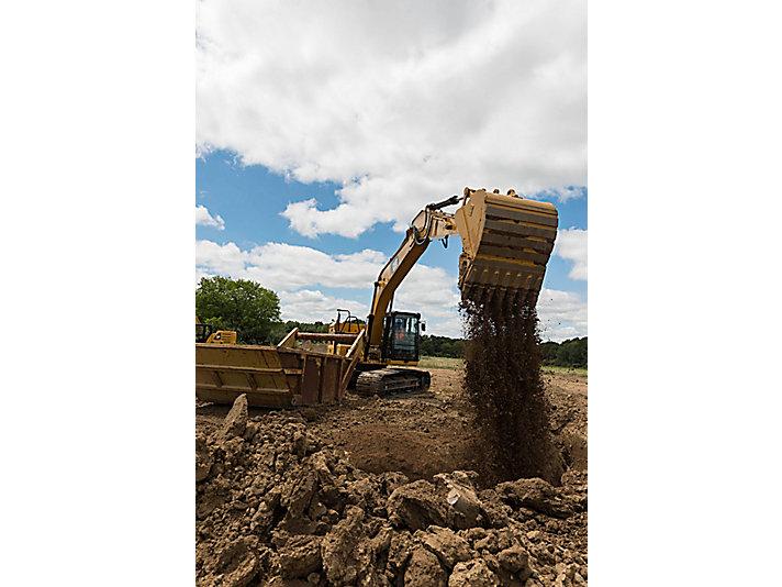 Excavadora Hidráulica 323