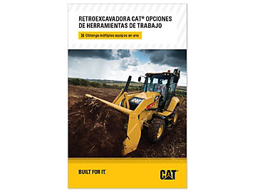Opciones De Herramientas De Trabajo Para Retroexcavadora De Orugas Cat