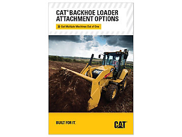 Cat Backhoe Loader Attachment Options