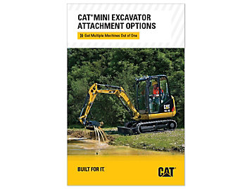 Cat Mini Excavator Attachment Options