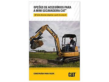 Opções De Ferramentas De Trabalho Para Mini Escavadeira Cat
