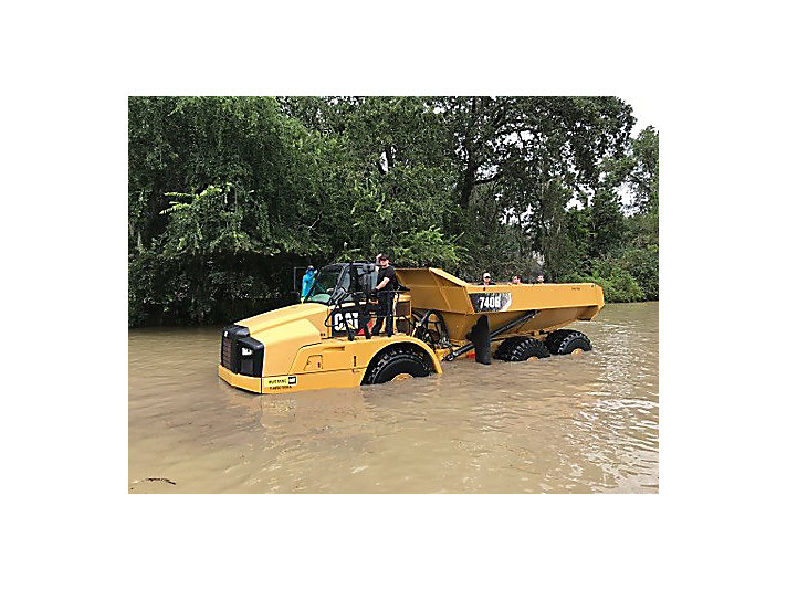 Ryan Beasley, Houston District sales manager for Caterpillar Global Construction & Infrastructure, shared this photo from the Houston area.