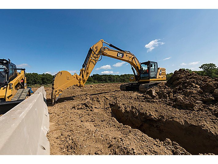 Cat E-fence for Excavators