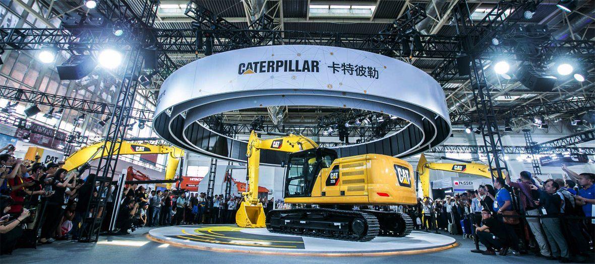 卡特彼勒参展2017中国(北京)国际工程机械展