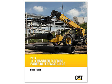 Cat Telehandler D Series Parts Reference Guide