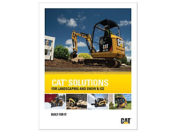 Cat Solutions For Landscape and Snow & Ice