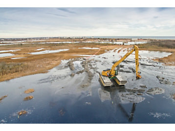 Dredging at Ninigret Pond Opens Waterways to Improve the Environment