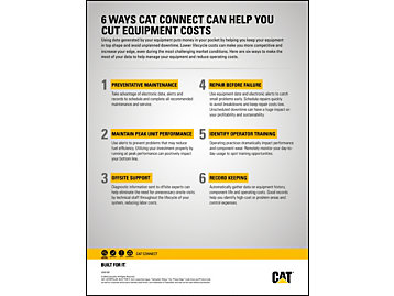 6 Ways Cat Connect Can Help You Cut Costs