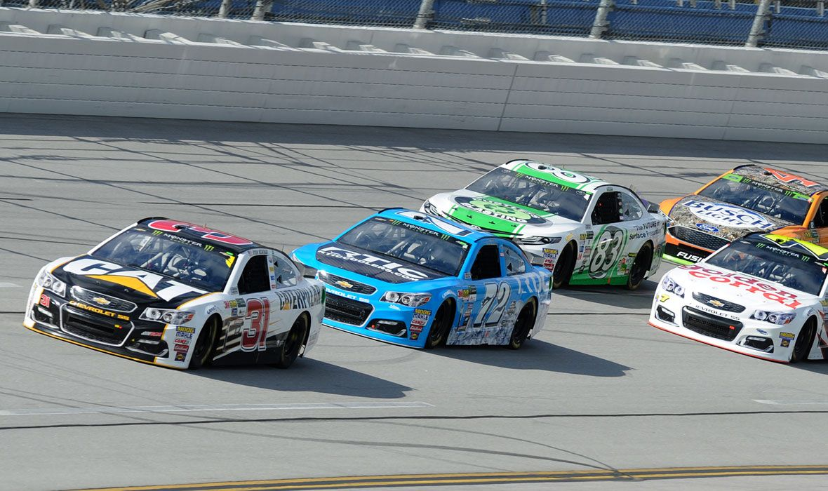 Cat Racing Team in the 2017 Monster Energy NASCAR Cup Series