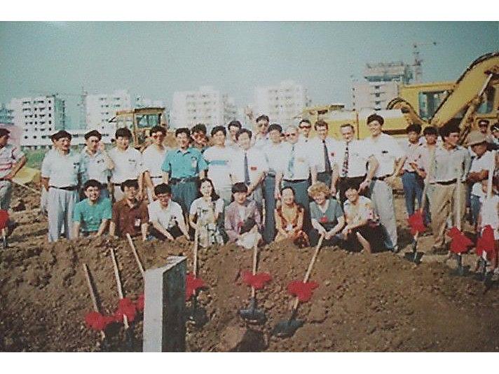 1995年 B厂房奠基仪式