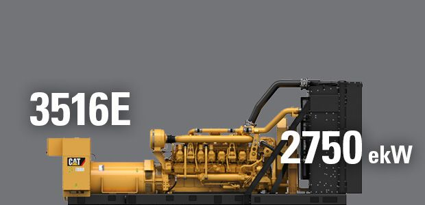 INTRODUCING THE LATEST CAT® GENSET POWER DENSITY RATING