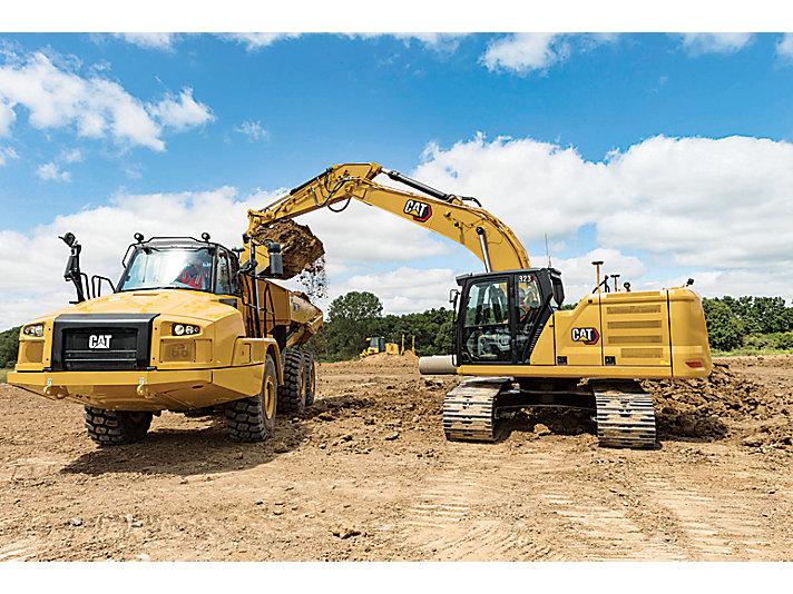 323 Medium Hydraulic Excavator
