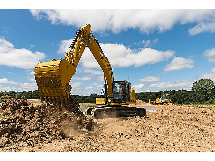 323 中型液壓挖掘機