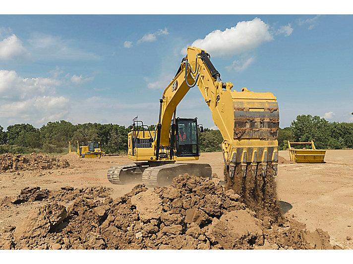 لحفار الهيدروليكي المتوسط 320 GC