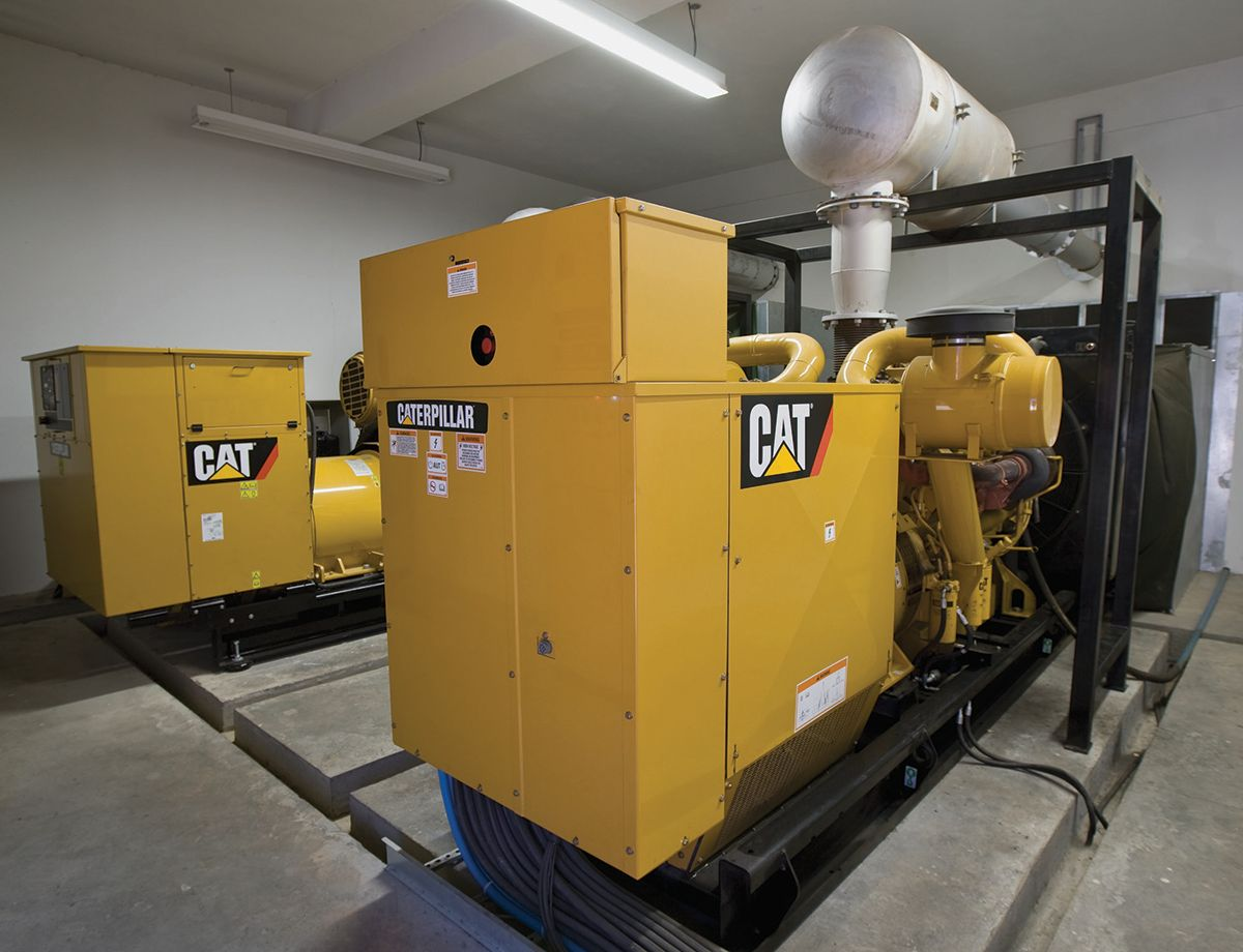 The Conduspar team selected the Cat generator sets after learning about peak shaving options in discussions with representatives from Pesa, the local Cat Dealer.