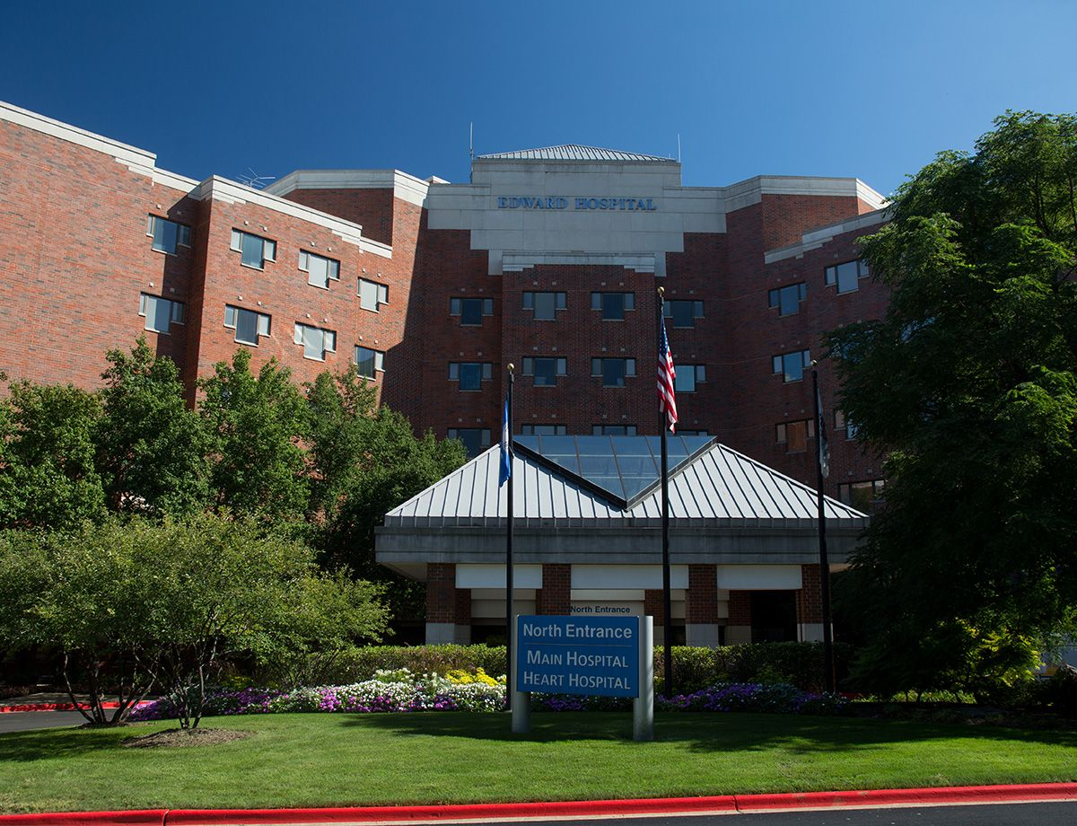 Established in 1907, Edward Hospital evolved from a tuberculosis treatment center to an acute care facility in 1955.