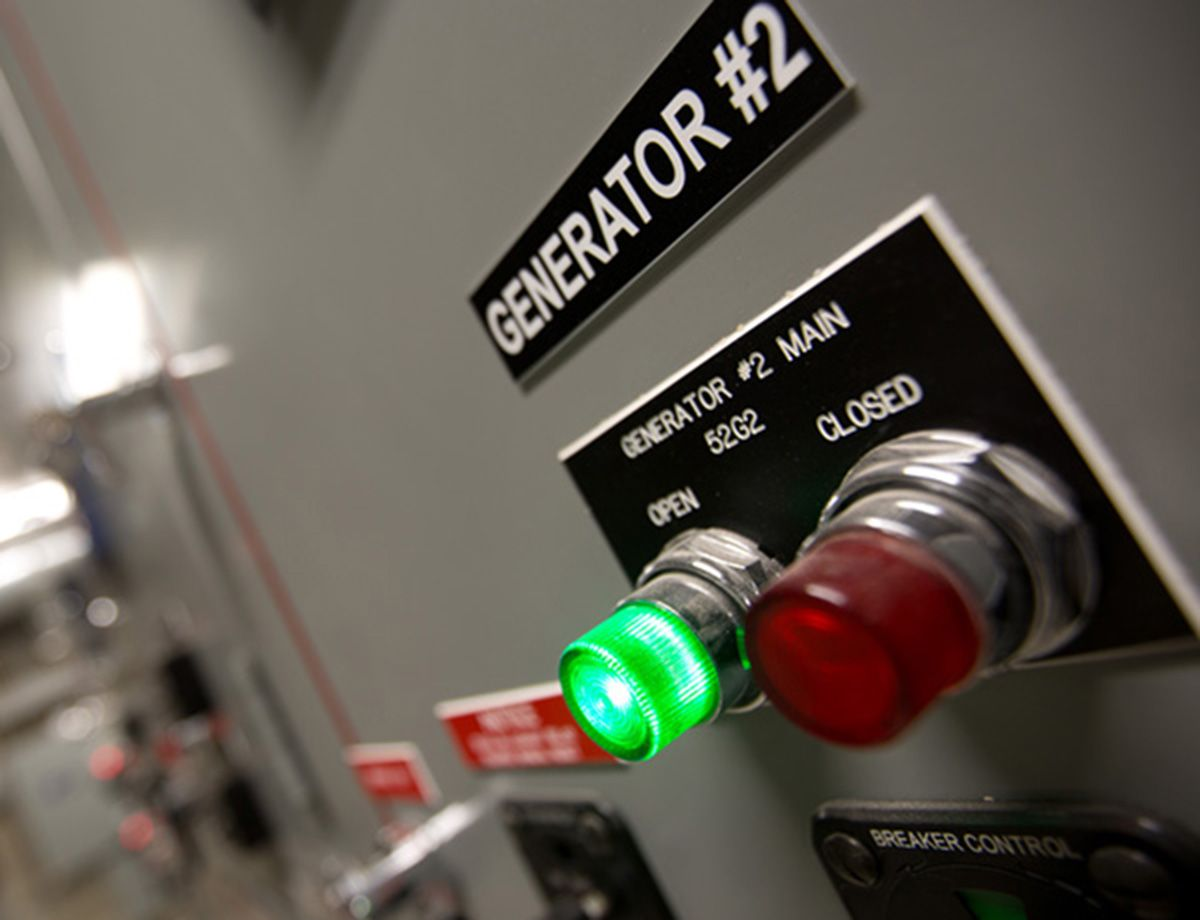 The 3516 generator sets feature a controller that provides a multi-generator set paralleling capability.