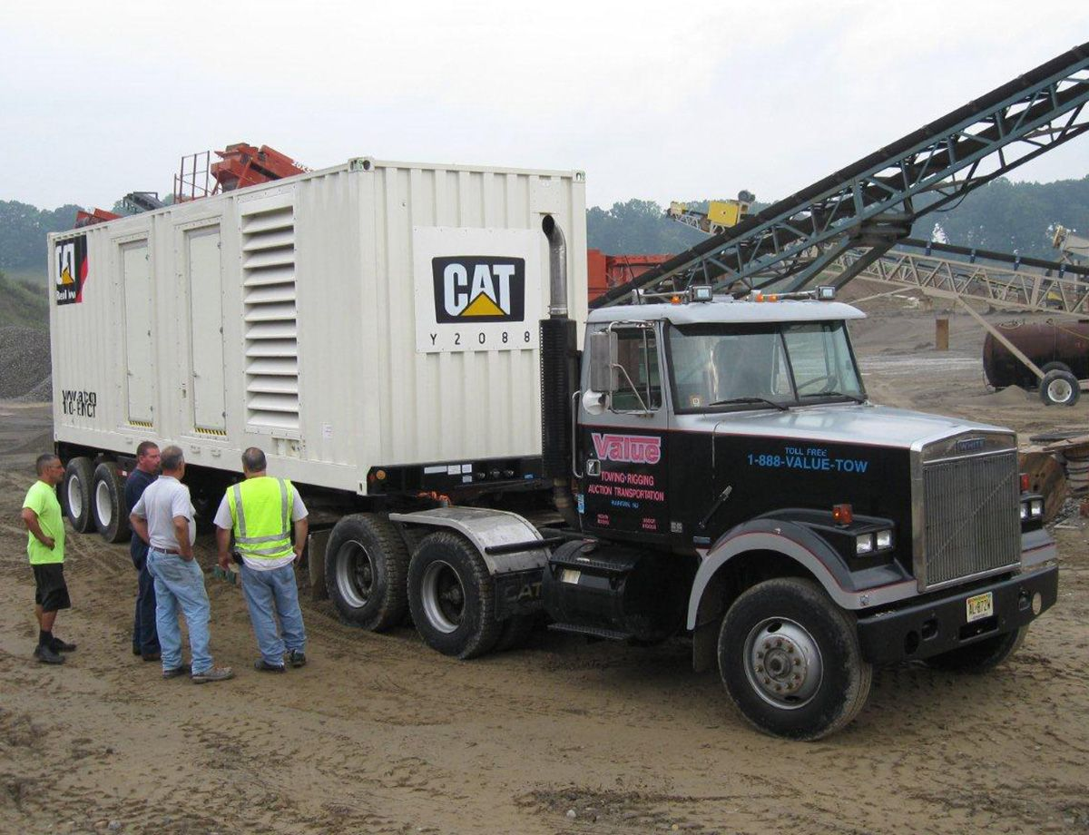 North Church Gravel turned to Caterpillar for temporary power to launch the expansion of the company's 365-acre site in northern New Jersey.
