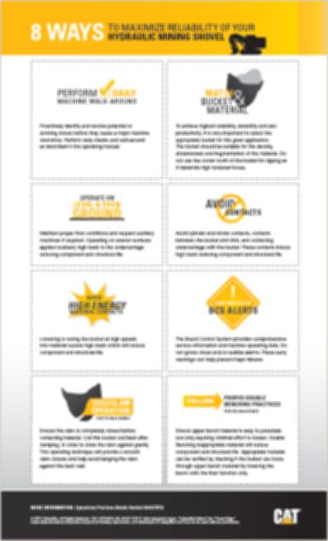 8 ways to Maximize Reliability of Your Hydraulic Mining Shovel (HMS)