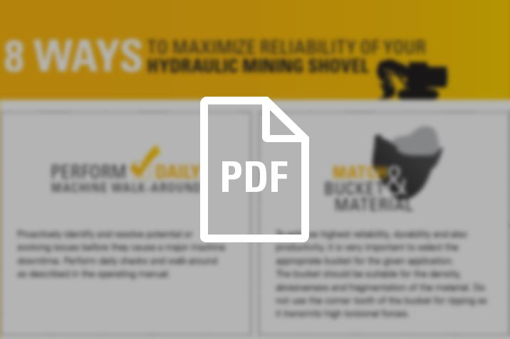 Hydraulic Mining Shovels - 8 Ways to Maximize Reliability