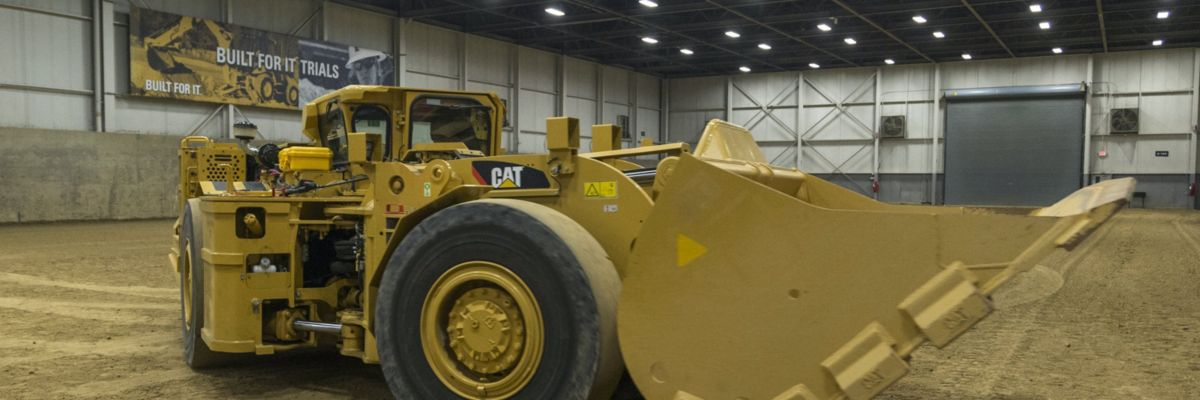 Cat Battery Electric Proof of Concept LHD for Underground Mining