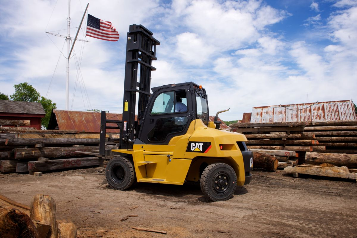 """We are moving 30-foot logs with the public standing 20 feet away, and so every nook of space gets used,"" says Shipwright Greg See. ""And therefore, being able to get in and out of all of those tight corners is unparalleled."""