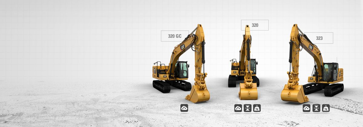 THE NEW <br>CAT® 20-TON <br>LINE-UP