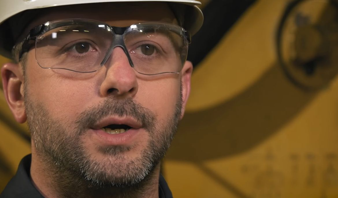 It makes it a little more challenging to get any of our equipment underground - John Blazic, Sperry mine manager on being 620 feet below ground