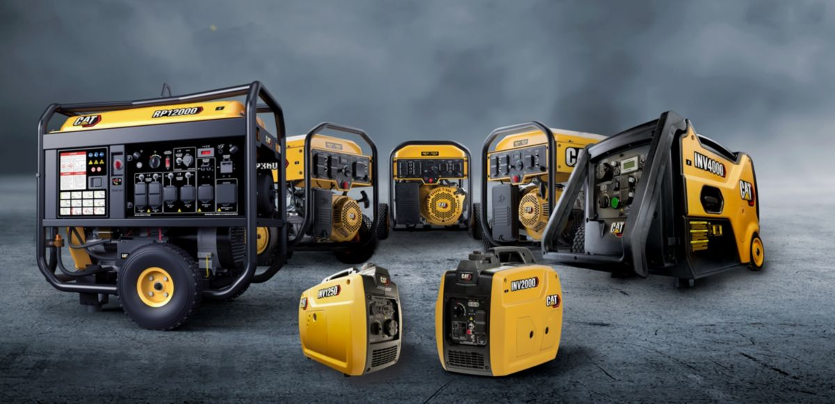 CAT® PORTABLE GENERATORS FOR HOME, WORK, AND PLAY