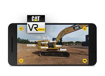 Cat  VR Learning App