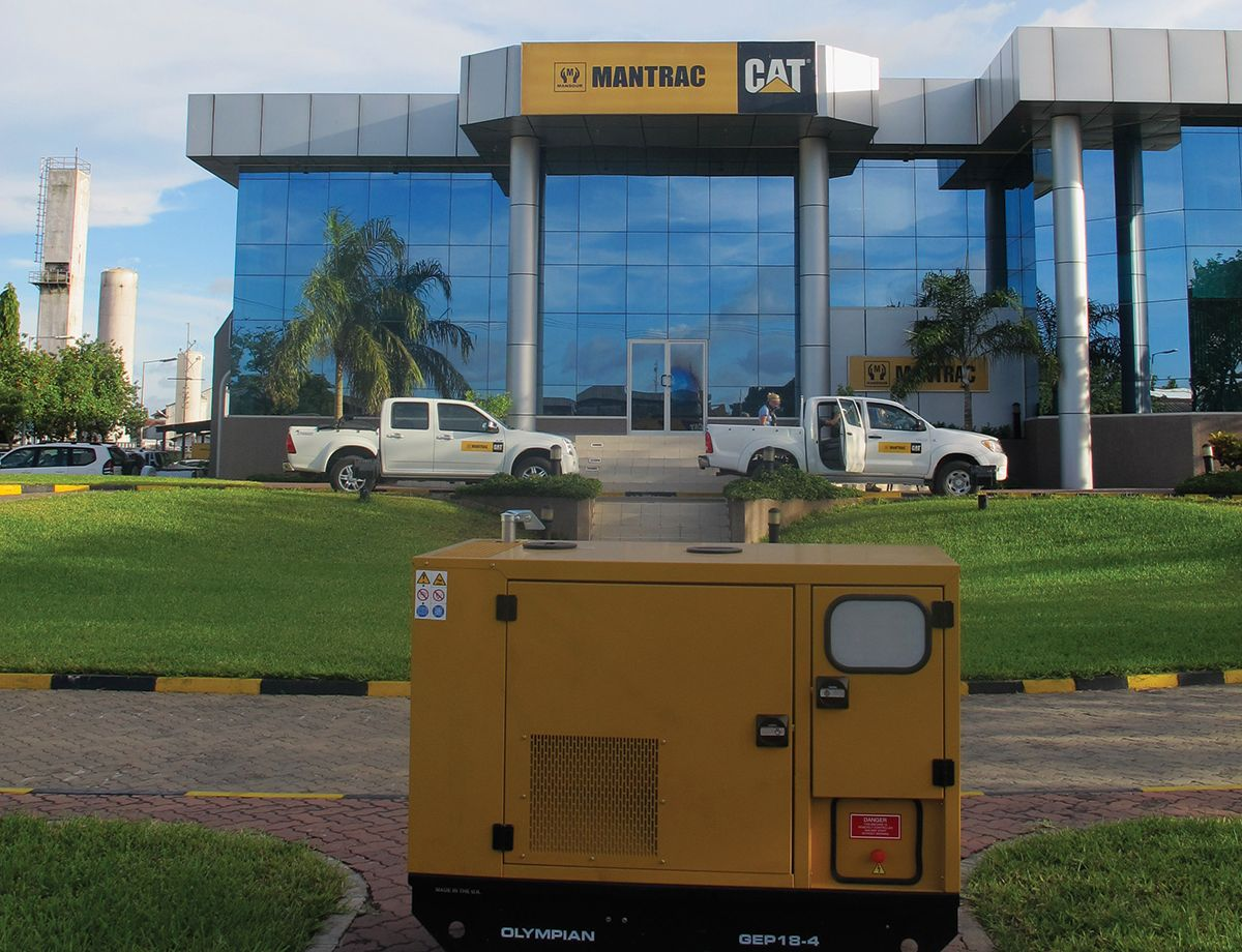 Alan Dick quickly opted to purchase power generation equipment from Cat® Dealer Mantrac Kenya, thanks to the reliability and excellent reputation of Cat and Olympian™ generator sets.