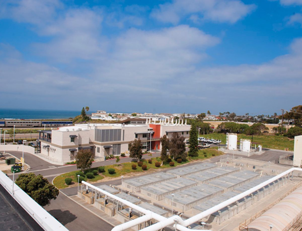 EWA, located in Carlsbad, California, provides approximately 350,000 customers in north San Diego County with wastewater treatment services.