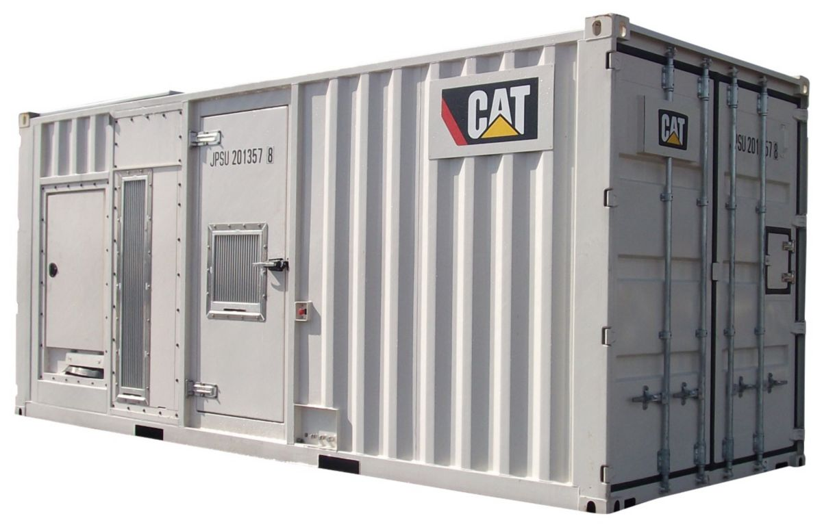 Caterpillar Expands Rental Power Product Line with an 1100kVA Output Generator Set