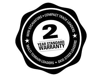 2 Year Standard Warranty