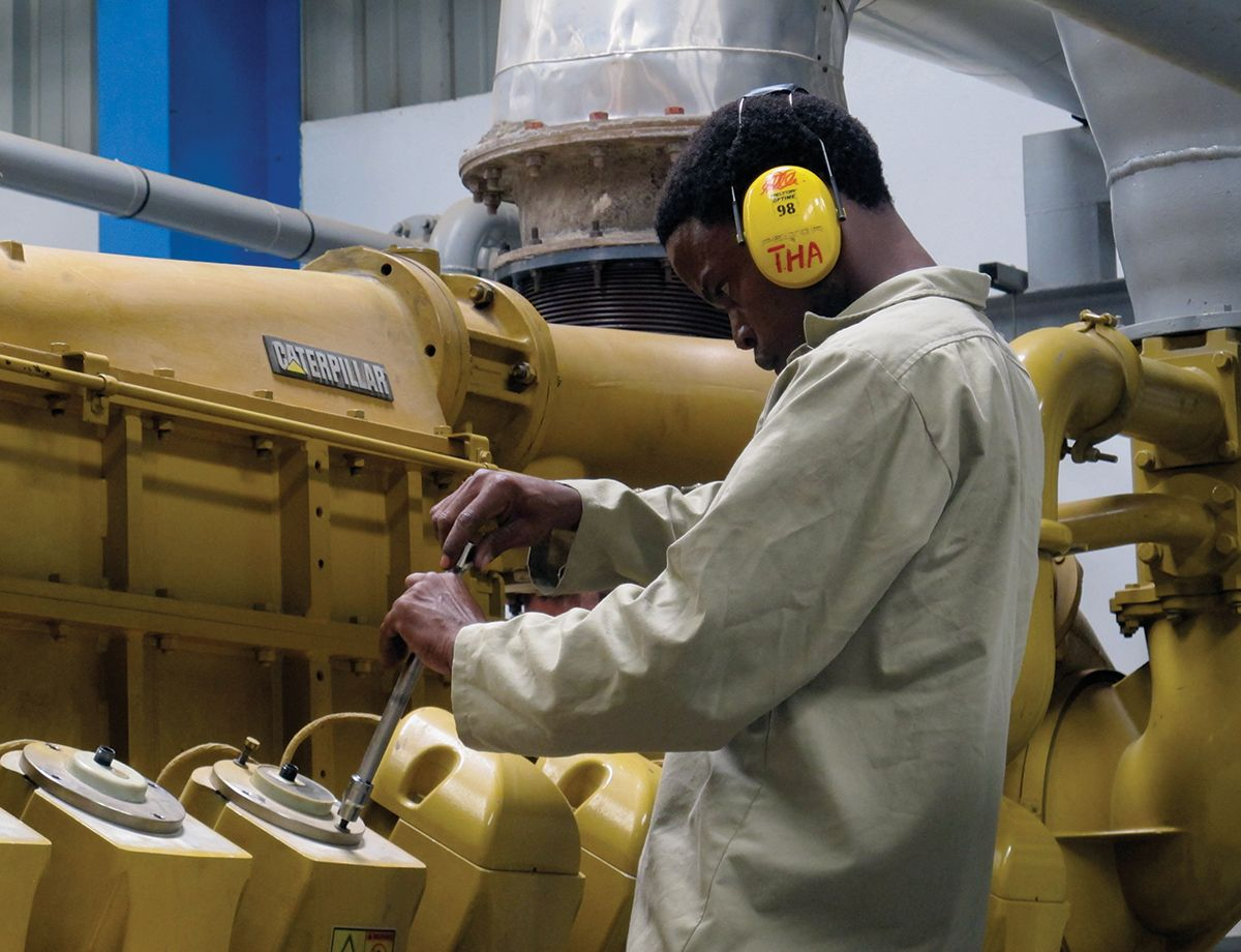 With the installation complete and the Cat gensets coming online, the significance of the solution became self-evident.
