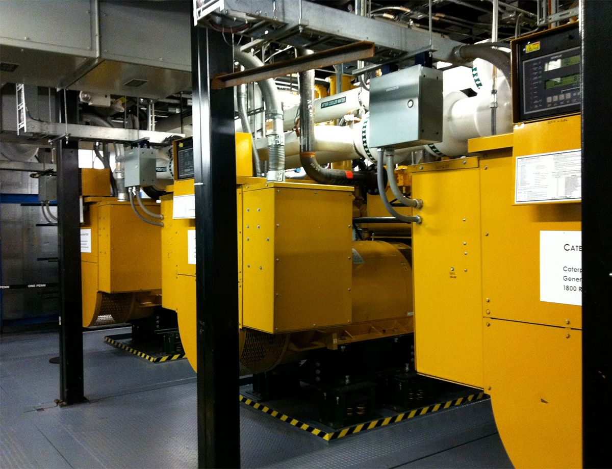 Three Cat® 3520C Generator Sets